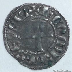 Hugues de Chatillon  (1292-1307). Denier