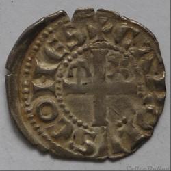 Charles 1er d' Anjou (1246-1285). Denier