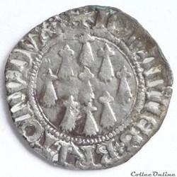 Jean V (1399-1442). Blanc