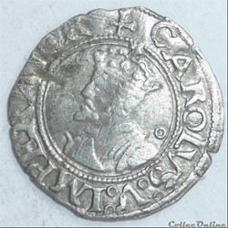 Charles Quint, monnayage posthume (1559-1675). Blanc