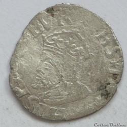 Philippe II (1556-1598). Demi-carolus ou...