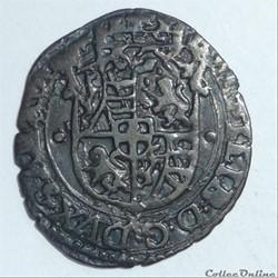 """Emmanuel-Philibert dit """"tête de fer""""(1553-1580). Sol 2ème type"""