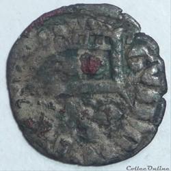 Gui de Chatillon  (1307-1328). Obole