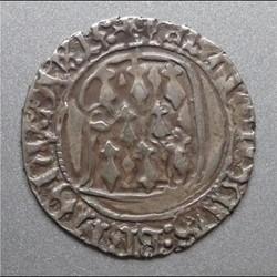 François II (1458-1488). Blanc à la targe