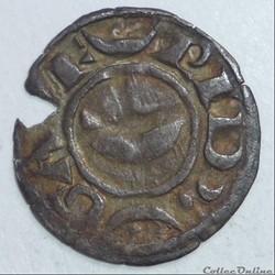 Geoffroy V (1215-1235). Denier