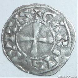 Eudes 1er ou Thibaut II (975-1004). Denier