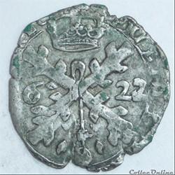 Philippe IV (1621-1665). 32ème de patagon ou gros