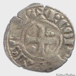 Charles de Valois (1293-1319). Obole
