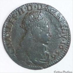 Charles II de Gonzague (1637-1665). Liard