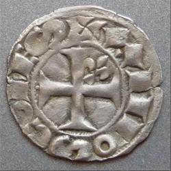 Alphonse de Poitiers (1249-1271). Denier