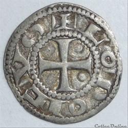 Immobilisation au nom de Louis (XIIème siècle). Denier