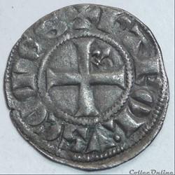 Charles de Valois (1290-1319). Denier