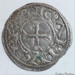 Immobilisation au type de Charles le Simple (XIIème siècle). Denier