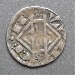 Jeanne de Constantinople (1205-1244). Maille semi-muette