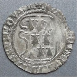 François II (1458-1488). Blanc