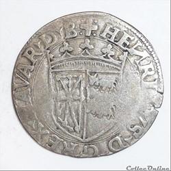 Henri 1er d' Albret (1516-1555): Douzain