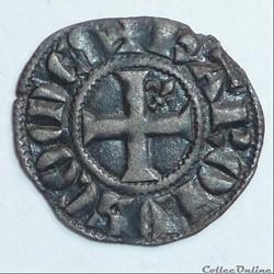 Charles de Valois (1290-1319). Obole