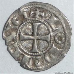 Immobilisation au nom de Louis (XIIème siècle). Obole