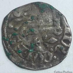 Gui de Chatillon  (1307-1328). Denier