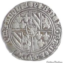 Philippe le Bon (1433-1467) - Double-gros dit Vierlander