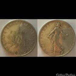 1 franc Semeuse 1901