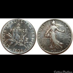 2 francs Semeuse 1902