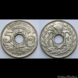 5 centimes Lindauer 1937