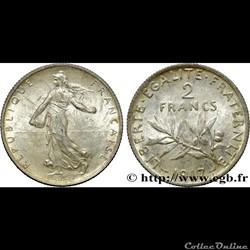 2 francs Semeuse 1917