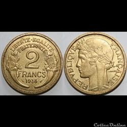 2 francs Morlon 1938