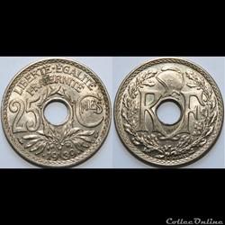 25 centimes Lindauer 1939