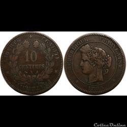 10 centimes Cérès 1898