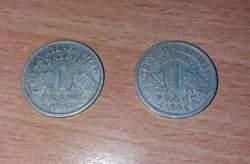 1 Franc Etat Français