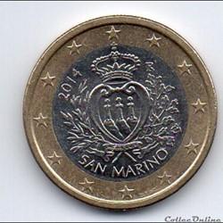 1 € San Marin 2014