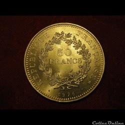 50 Francs Hercule 1976