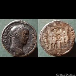 Dioclétien - Argenteus (Faux moderne)