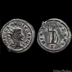 CLAUDE II LE GOTHIQUE Antoninien