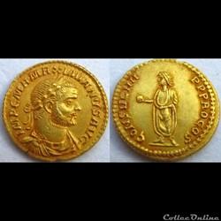 Maximien Hercule - Aureus - CONSVL IIII