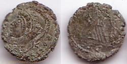 Ae4 Constantinopolis imitation