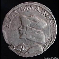 Teston de Guglielmo II Palaeologo
