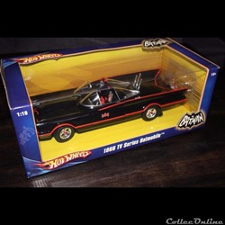 Batmobile 1966 TV serie Hot Wheels L2090BK