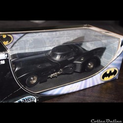 Batmobile 1989 Hot wheels Burton 1/18 eme