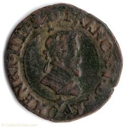 CGKL174 - Double tournois HENRI IV 1594 ...