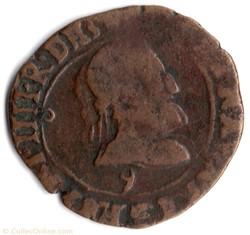 CGKL226 - Double tournois HENRI IV 1591 ...