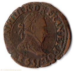 CGKL66 - Double tournois HENRI III 1592 ...
