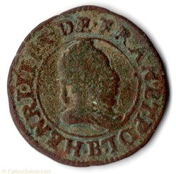 CGKL112 - Double tournois HENRI III 1588...