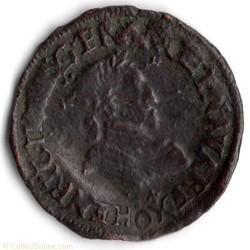 CGKL170 Double tournois HENRI IV 1594 Cl...