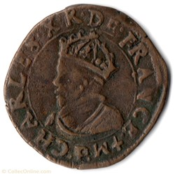 CGKL146 - Double tournois CHARLES X 1593...