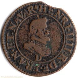 CGKL202B - Double tournois Henri IV 1607...