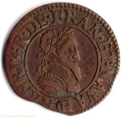 CGKL166 - Double tournois Henri IV 1592C...