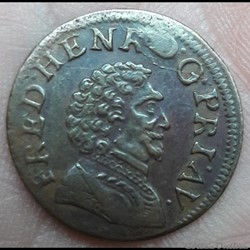 FREDERIC-HENRI de NASSAU 1625-1647 Doubl...